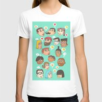 emoji T-shirts featuring emoji talk by Hugo Lucas