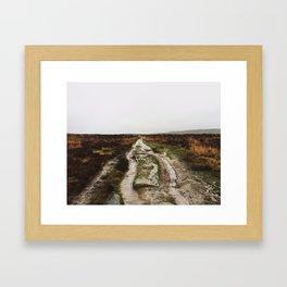 Curbar Framed Art Print