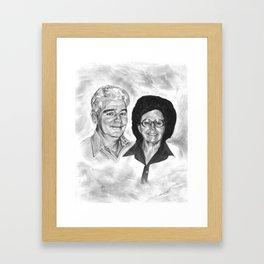Woodrow & Karen Erwin Framed Art Print