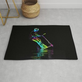 Puddle Jumping - Scooter Boy Rug