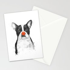 I'm not your clown Stationery Cards