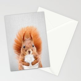 Squirrel 2 - Colorful Stationery Cards