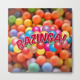 Bazinga! - Ball Pit Metal Print