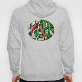 Chili Peppers by KPC Studios Hoody