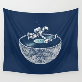 Space Tune Wall Tapestry