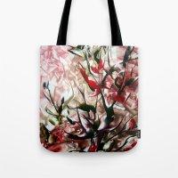 magnolia Tote Bags featuring Magnolia by ART de Luna