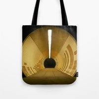 subway Tote Bags featuring Subway by Matt Callaghan