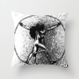 W I D E S C R E A M  Throw Pillow