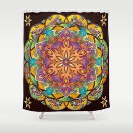 Mandala Exotica Shower Curtain