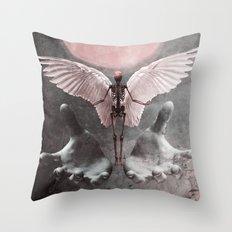 Fallen Angel 2 Throw Pillow