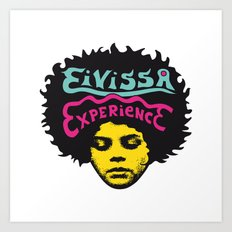 Eivissa experience Art Print