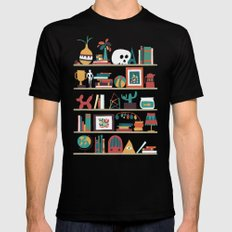 The shelf SMALL Mens Fitted Tee Black