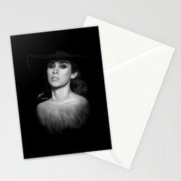Lauren Jauregui 'Reflection' Digital Painting  Stationery Cards