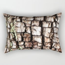 Ancient Juniper Bark Rectangular Pillow