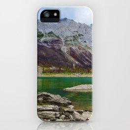 Medicine Lake in Jasper National Park, Canada iPhone Case