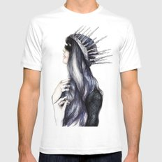 Ice Queen // Fashion Illustration Mens Fitted Tee MEDIUM White