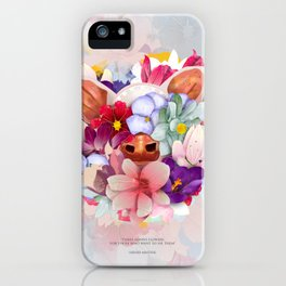 Always Flowers iPhone Case