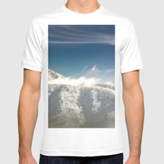 I Will Fly Away Someday MEDIUM Mens Fitted Tee White