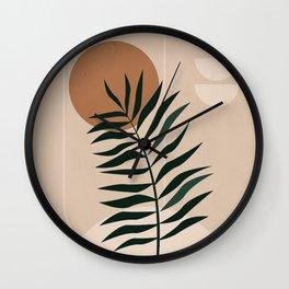 Minimalist Abstract 35 Wall Clock