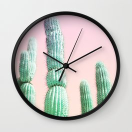 Cactus Pop Wall Clock