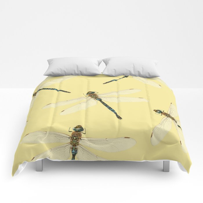 Dragonfly pattern Comforters