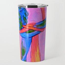 Gift-wrapped Globe Travel Mug