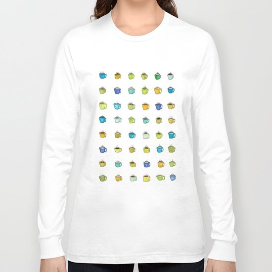 morning cup Long Sleeve T-shirt