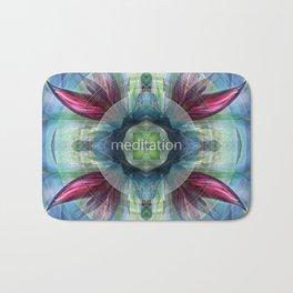 """Meditation"" by Visionary Artist Carolyn Quan Bath Mat"
