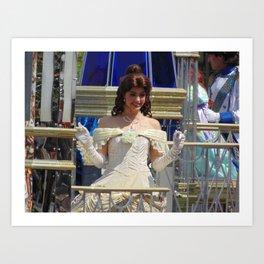Belle at Walt Disney World's Magic Kingdom Art Print