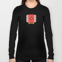 Japan Taiko Drum Long Sleeve T-shirt