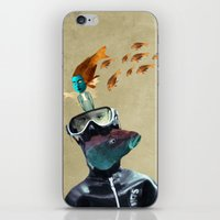 submarine iPhone & iPod Skins featuring SUBMARINE by Momenti Riciclati