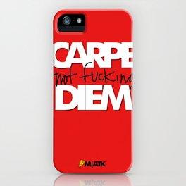 Carpe Dien iPhone Case
