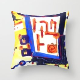 BEACH COMMOTION #06 Throw Pillow