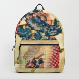 Abstract Clover Scetch Backpack