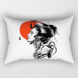 Vaporwave Cyberpunk Japanese Urban Style  Rectangular Pillow