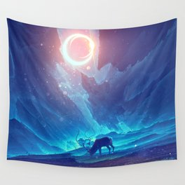 Stellar collision Wall Tapestry