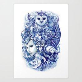 Fables Art Print