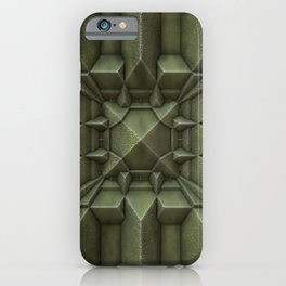 Industrial Green Tile  iPhone Case