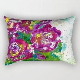 Flower Bouquet Rectangular Pillow