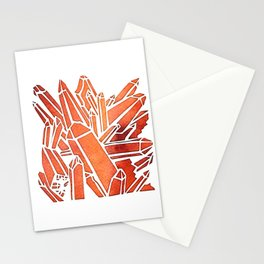 Tangerine Quartz Stationery Cards