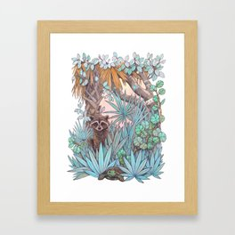 Jungle Coast Dos Framed Art Print
