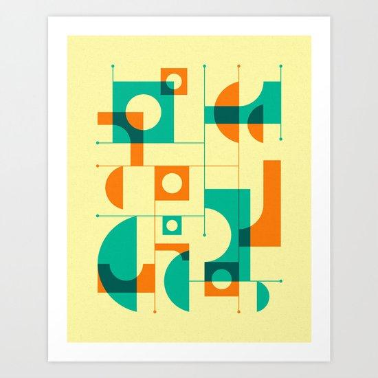 PASSING THROUGH (1) Art Print