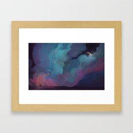 Storm II Framed Art Print