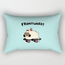 PUG. Rectangular Pillow