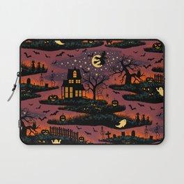 Halloween Night - Bonfire Glow Laptop Sleeve
