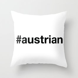 AUSTRIA Throw Pillow