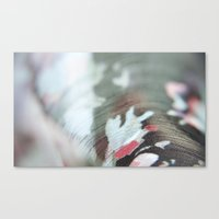 fabric Canvas Prints featuring Fabric by Bluest Blue