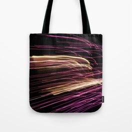 Night Stripes Tote Bag