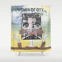 Women of City Colours Shower Curtain