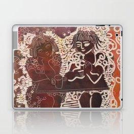 Coffee chat (untitled) Laptop & iPad Skin